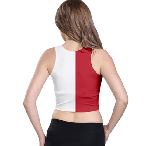 Racer Back Crop Top