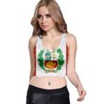 Peru Tank - Racer Back Crop Top