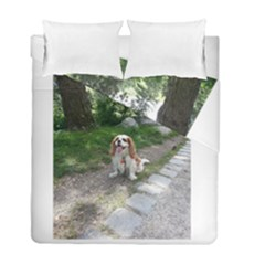 Cav Sitting Duvet Cover (Twin Size) by TailWags