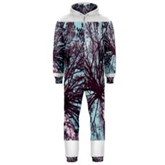 Under Tree Paint Hooded Jumpsuit (men)  by infloence
