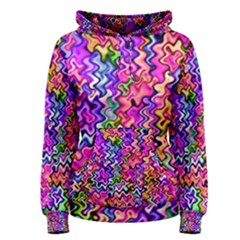 Swirly Twirly Colors Women s Pullover Hoodies by KirstenStarFashion