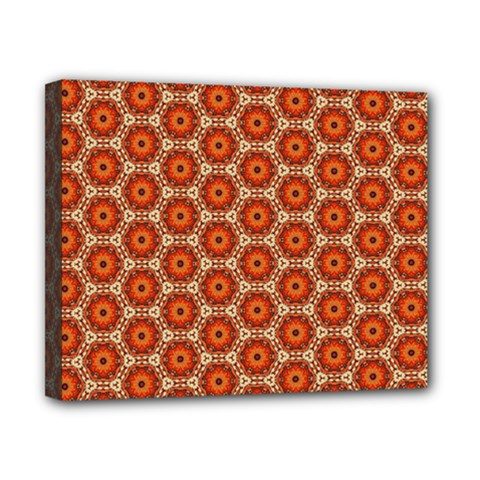 Cute Pretty Elegant Pattern Canvas 10  x 8  by creativemom