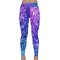 Glitter Ocean Bokeh Yoga Leggings by KirstenStar