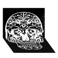 Skull Hope 3d Greeting Card (7x5)  by ImpressiveMoments