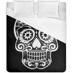 Skull Duvet Cover Single Side (double Size) by ImpressiveMoments