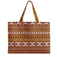 Fancy Tribal Borders Golden Zipper Tiny Tote Bags by ImpressiveMoments