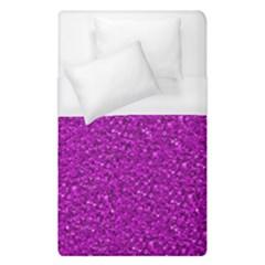 Sparkling Glitter Hot Pink Duvet Cover Single Side (single Size) by ImpressiveMoments