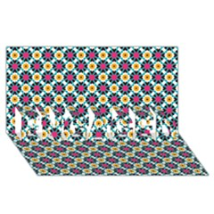 Pattern 1282 Engaged 3d Greeting Card (8x4)  by creativemom