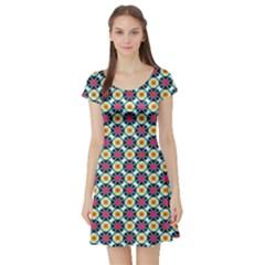 Pattern 1282 Short Sleeve Skater Dresses