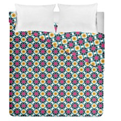 Cute Abstract Pattern Background Duvet Cover (full/queen Size) by creativemom
