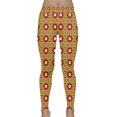 Cute Pretty Elegant Pattern Yoga Leggings