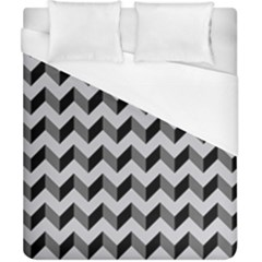 Modern Retro Chevron Patchwork Pattern  Duvet Cover Single Side (double Size) by creativemom