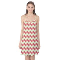 Modern Retro Chevron Patchwork Pattern Camis Nightgown by creativemom