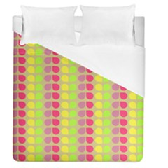 Colorful Leaf Pattern Duvet Cover Single Side (full/queen Size) by creativemom