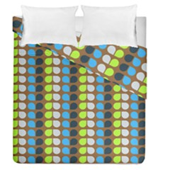 Colorful Leaf Pattern Duvet Cover (full/queen Size) by creativemom