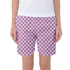 Cute Pretty Elegant Pattern Women s Basketball Shorts by creativemom