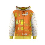 8yellowcats original art youth hoodie - Kids  Zipper Hoodie