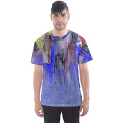 Hazy City Abstract Design Men s Sport Mesh Tees by theunrulyartist