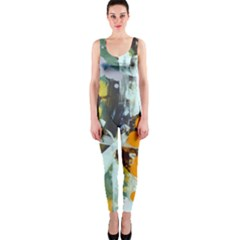 Abstract Country Garden Onepiece Catsuits by theunrulyartist