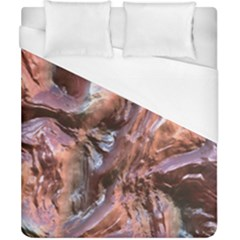 Wet Metal Structure Duvet Cover Single Side (double Size) by ImpressiveMoments