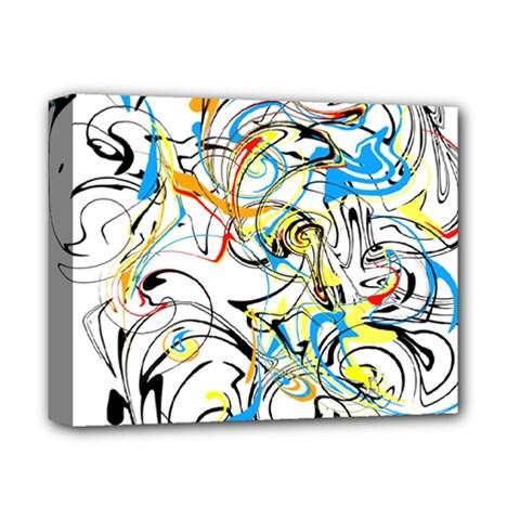 Abstract Fun Design Deluxe Canvas 14  X 11