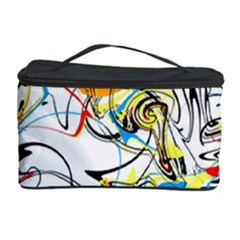 Abstract Fun Design Cosmetic Storage Cases by theunrulyartist