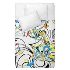 Abstract Fun Design Duvet Cover (single Size) by theunrulyartist