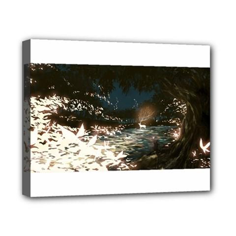 Dream deer Canvas 10  x 8  by SHERRAE