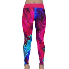 Psychedelic Storm Yoga Leggings by KirstenStar