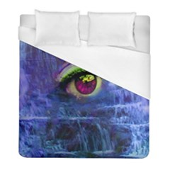 Waterfall Tears Duvet Cover Single Side (twin Size) by icarusismartdesigns