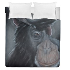 Humans Duvet Cover (Full/Queen Size) by timelessartoncanvas