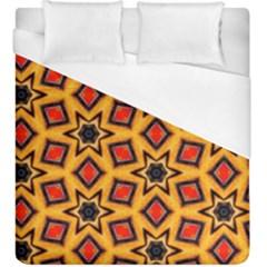 Cute Pretty Elegant Pattern Duvet Cover Single Side (KingSize) by creativemom