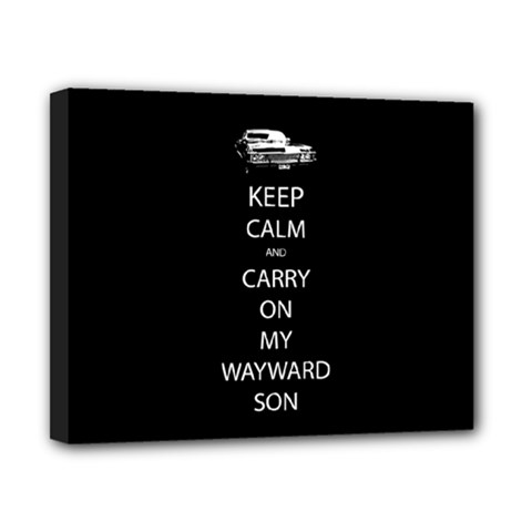 Carry On Centered Canvas 10  X 8  by TheFandomWard