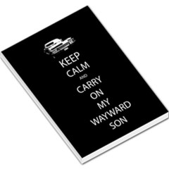 Carry On Centered Large Memo Pads by TheFandomWard