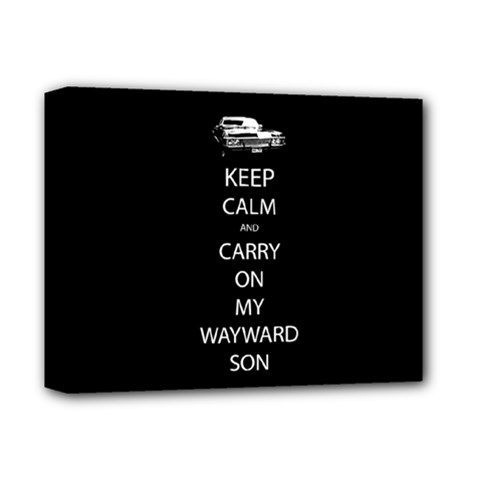 Carry On Centered Deluxe Canvas 14  x 11  by TheFandomWard