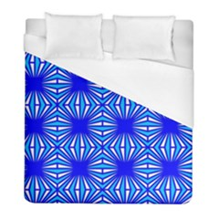 Retro Blue Pattern Duvet Cover Single Side (twin Size) by ImpressiveMoments
