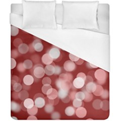 Modern Bokeh 11 Duvet Cover Single Side (double Size) by ImpressiveMoments