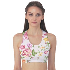 Women s Reversible Sports Bra Outside Front