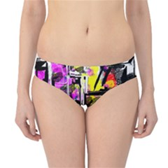 Abstract City View Hipster Bikini Bottoms by theunrulyartist
