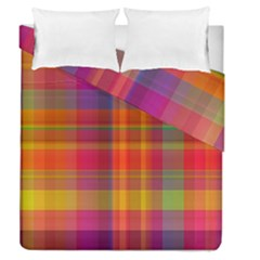 Plaid, Hot Duvet Cover (full/queen Size) by ImpressiveMoments
