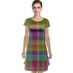 Plaid, Cool Cap Sleeve Nightdresses by ImpressiveMoments