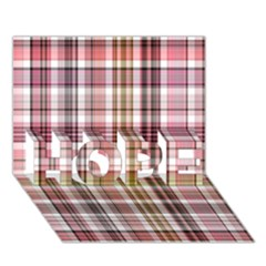 Plaid, Candy Hope 3d Greeting Card (7x5)