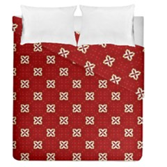 Cute Seamless Tile Pattern Gifts Duvet Cover (Full/Queen Size) by creativemom