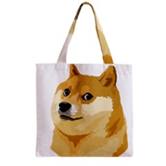 Dogecoin Grocery Tote Bags by dogestore