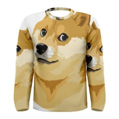 Dogecoin Men s Long Sleeve T-shirts by dogestore