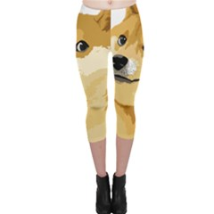 Dogecoin Capri Leggings by dogestore