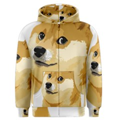Dogecoin Men s Zipper Hoodies by dogestore