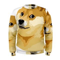 Dogecoin Men s Sweatshirts by dogestore