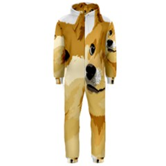 Dogecoin Hooded Jumpsuit (Men)  by dogestore