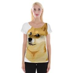 Dogecoin Women s Cap Sleeve Top by dogestore